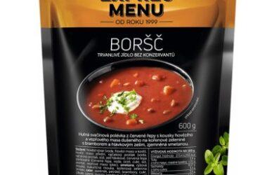 Obrázek zobrazuje produkt Expres Menu Boršč 600 g