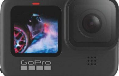 Obrázek zobrazuje produkt GoPro HERO 9 Black Edition