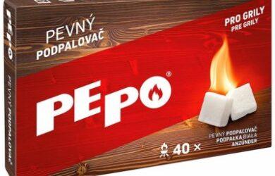 Obrázek zobrazuje produkt PE-PO pevný podpalovač