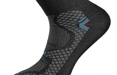 Obrázek zobrazuje produkt funkční ponožky SOFT černá