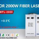 Vzduchom chladené chladiace zariadenie pre zváračky s vláknovým laserom