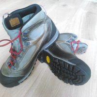 Trekové boty AKU TREKKER LITE II GTX W'S světle šedá