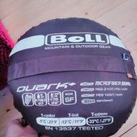 Prodám spacák Boll Quark+ SF - jako nový